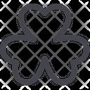 Trefoil St Patricks Icon
