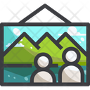 Trekking photo Icon