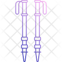 Trekking Pole Icon