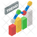 Trend Analysis Trend Chart Trend Graph Icon