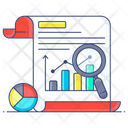 Trend Evaluation Trend Analysis Current Analysis Icon