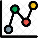 Trend Graph Analysis Icon
