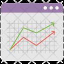 Trending Chart Analytics Icon