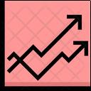Trending Graph Trending Chart Chart Icon