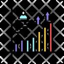 Growth Statistics Social Icon