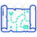Tressure Map Icon
