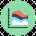 Triangle Pattern Graph Icon