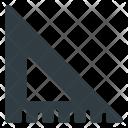 Triangle Triangular Ruler Icon