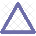 Outline Triangle Pyramid Icon