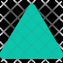 Triangle Decoretive Up Icon