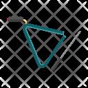 Triangle Percussion Musical Icon