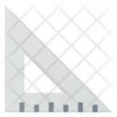 Triangle Triangular Ruler Icon