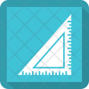 Triangle Ruler Scale Icon