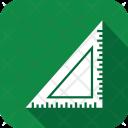 Triangle Ruler Scale Icon