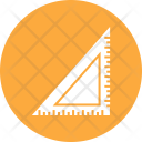 Ruler Triangle Scale Icon