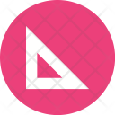 Triangle Measurement Ruler Icon