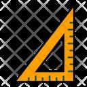 Triangle Geometry Tool Ruler Icon