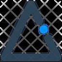 Sign Triangle Shape Icon