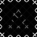 Triangle Interface Design Icon