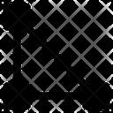 Shape Triangle Editing Icon