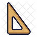 Triangle Ruler Tool Icon