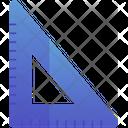 Set Square Draw Triangle Icon