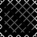 Triangle Trigonometry Geometry Icon