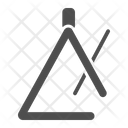 Triangle Music Instrument Icon