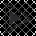 Triangle Right Arrow Arrow Icon