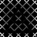 Triangle Design Shape Icon