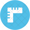 Triangle Ruler Geometry Icon