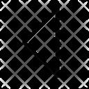 Triangle-back Icon