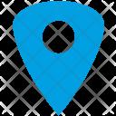 Triangle Blue Geo Icon