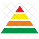 Triangle chart Icon