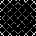 Triangle Design Stamp Icon