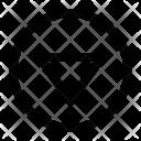 Triangle down Icon