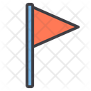 Triangle-flag Icon
