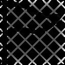 Triangle Flag Vote Flag Flag Icon