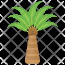 Triangle Palm Tree Icon