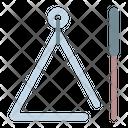 Triangle Instrument Percussion Icon