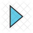 Triangle right Icon