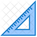 Triangle Ruler Ruler Scale Icon