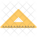 Triangle Ruler Drafting Icon