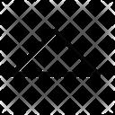 Triangle-top Icon