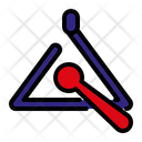 Triangle Tuning Music Instrument Icon