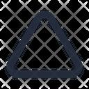Shape Triangle Up Icon