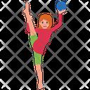 Triangle Yoga Icon