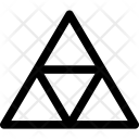 Triangles Pattern Mosaique Icon