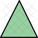Triangular Triangle Object Icon