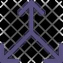 Triangular Arrow Icon